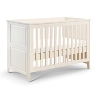 CAMEO COT BED AND TODDLER BED in White by Julian Bowen