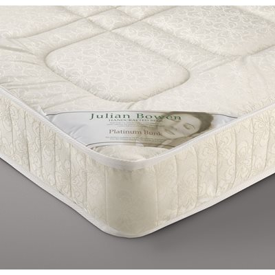 Julian Bowen Platinum Bunk Bed Open Coil Sprung Mattress