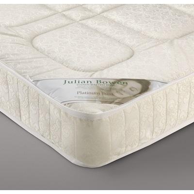 PLATINUM BUNK BED OPEN COIL SPRUNG MATTRESS by Julian Bowen