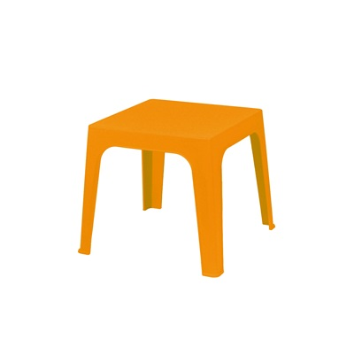 CHILDREN'S JULIETA TABLE in Orange