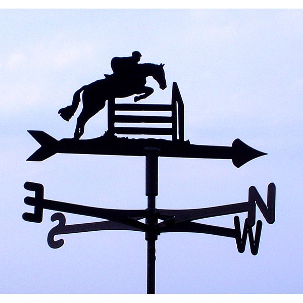 HORSE JUMPING WEATHER VANE