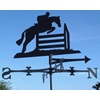 HORSE JUMPING WIND VANE