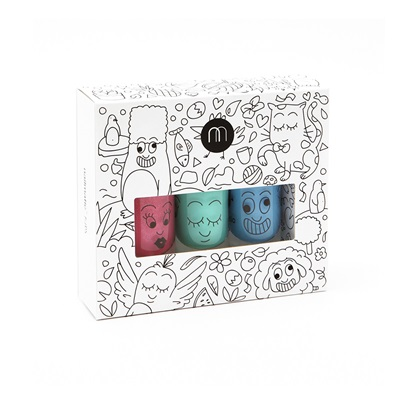 NAILMATIC KIDS WASH OFF NAIL POLISH GIFTSET in Jungle Style