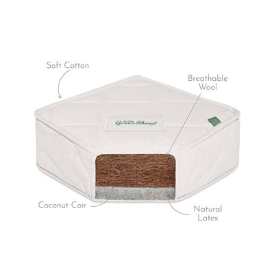 KIDS NATURAL JUNIOR MATTRESS 90 x 190 cm