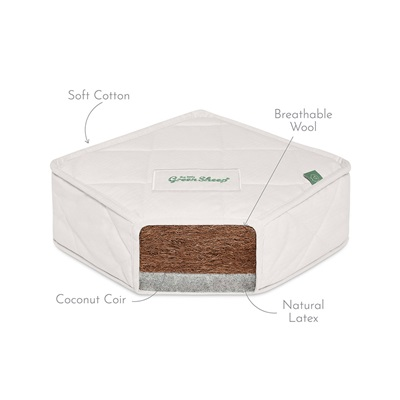 Kids Natural Junior Mattress 90 x 190cm