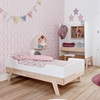 Nursery Furniture Junior Cot Bed in White