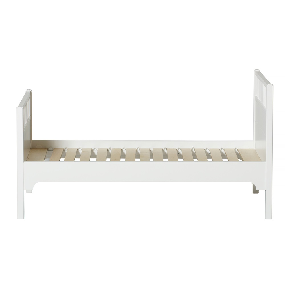 Childrens luxury junior bed in white single beds Seaside collection furniture