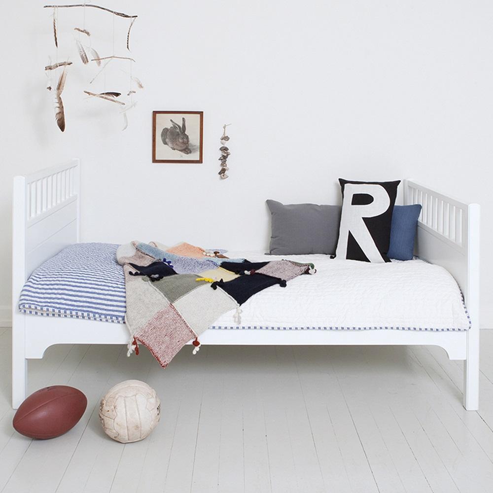 Childrens Luxury Junior Bed In White