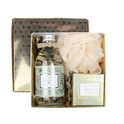 BATH HOUSE JUNIPER GIN BATHE GIFT BOX