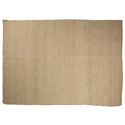 JUTE CARPET RUG in Natural