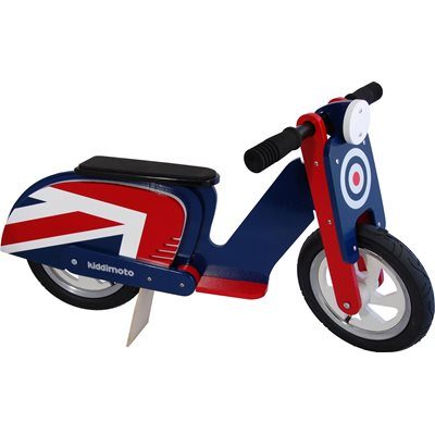 KIDDIMOTO Brit Pop Balance Scooter