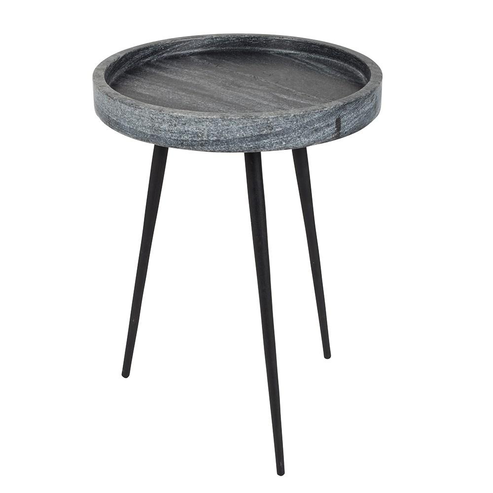 3173a8cef6b Zuiver Karrara Small Round Side Table In Grey Cuckooland