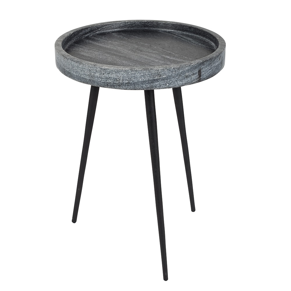 Small Round Side Table In Grey Previous Karrara Jpg