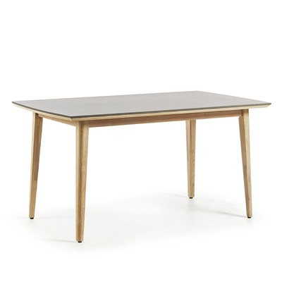 Khloe Dining Table in Eucalyptus Wood