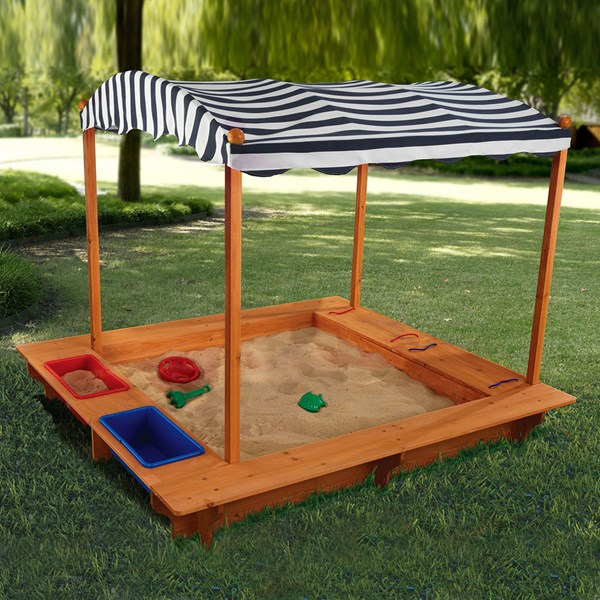 Kidkraft Childrens Outdoor Sandbox with Canopy