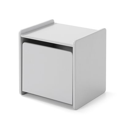 KIDDY BEDSIDE TABLE in Cool Grey