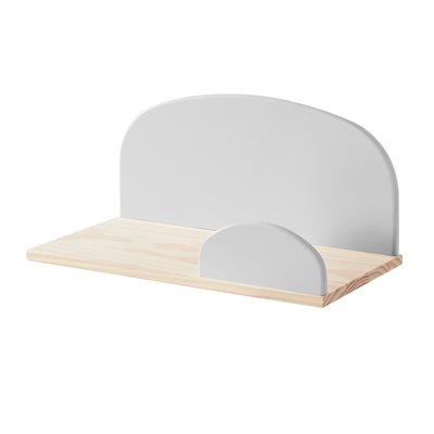 KIDDY WALL SHELF in Cool Grey