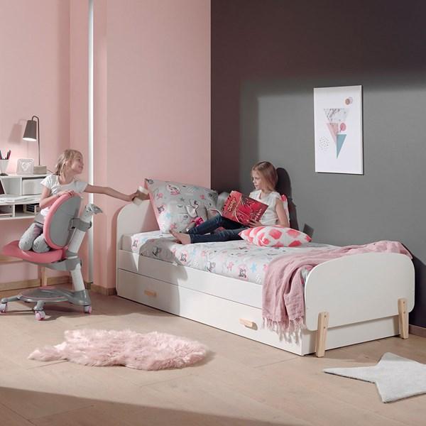 Kiddy Single Kids Bed in White