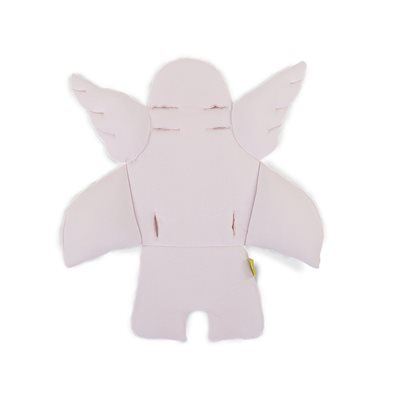 ANGEL WINGS HIGH CHAIR CUSHION in Old Pink