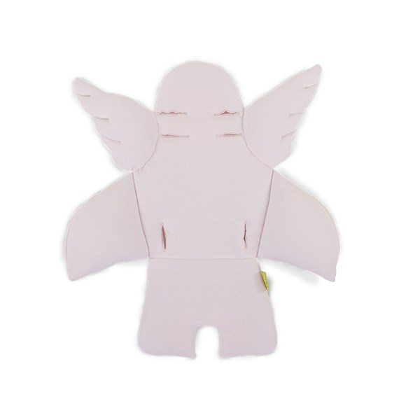 Kid's Angel Wings Seat Cushion in Old Pink