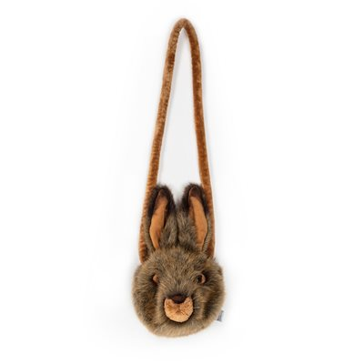 Kids Plush Hare Animal Purse Bag