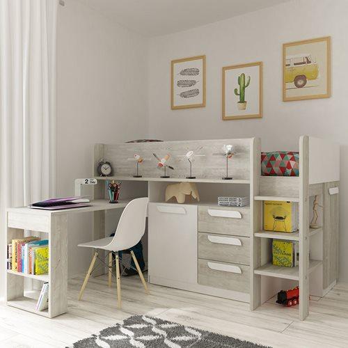 Beds With Desks Desk Beds For Boys Girls Cuckooland