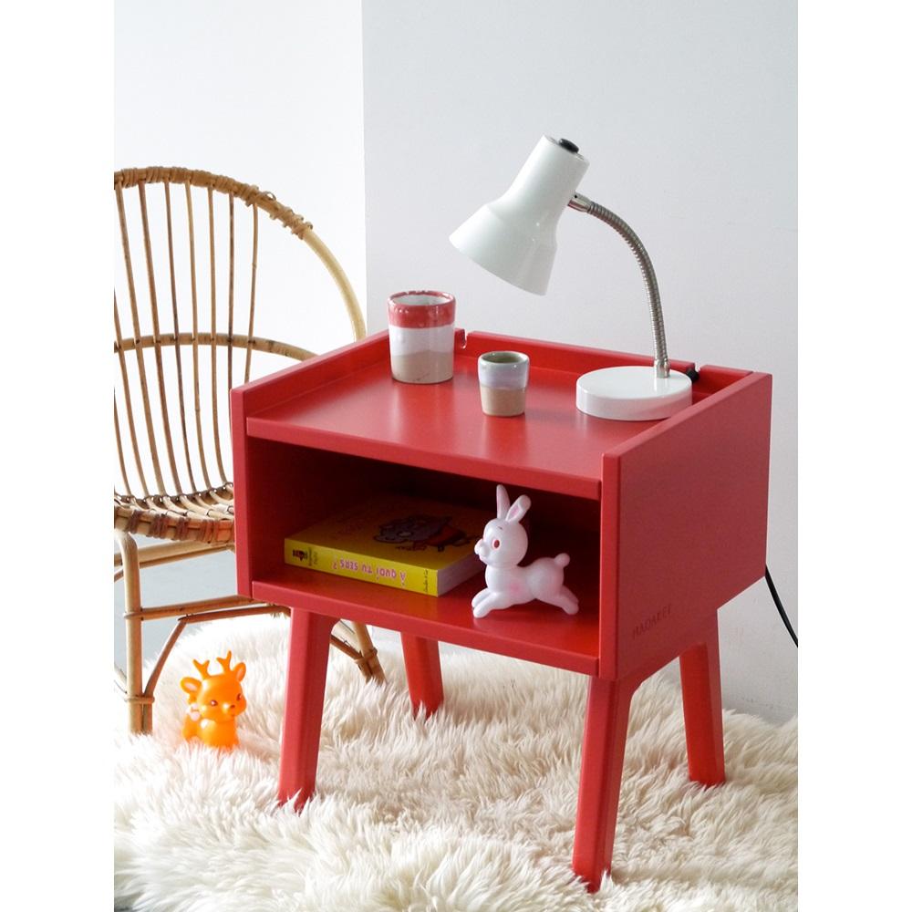 kids bedside table in madavin design mathy by bols childrens bedroom furniture cuckooland. Black Bedroom Furniture Sets. Home Design Ideas