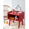 Bright Funky Red Childrens Bedside Tables