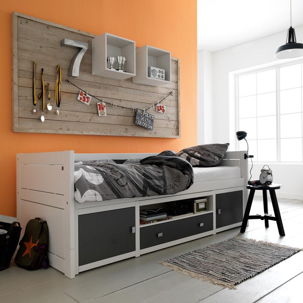 Kids Cabin Storage Bed Lifetime Cuckooland Jpg