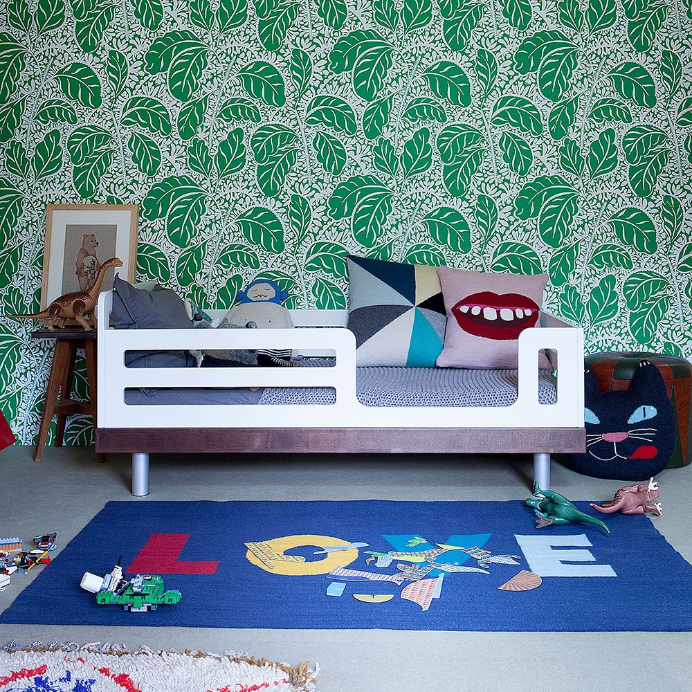 Oeuf Classic Toddler Bed in White & Walnut - Oeuf NYC ...