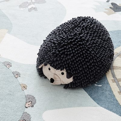 EDVIN HEDGEHOG SEAT POUF TOY