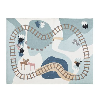 EDVIN COTTON WOODLAND PLAYMAT RUG