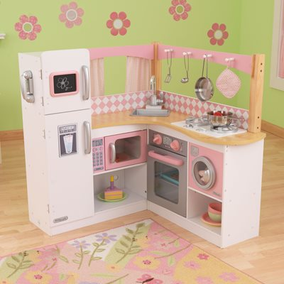 KIDS GRAND GOURMET KITCHEN in Pink