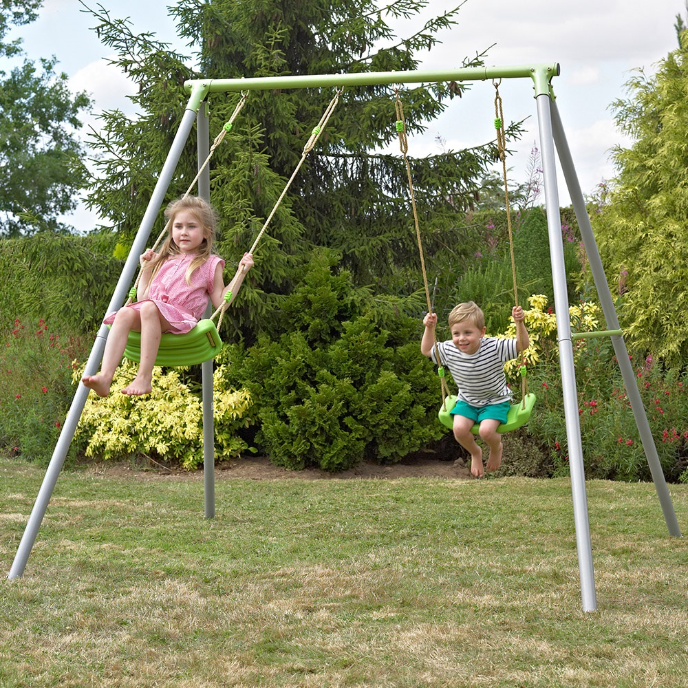 assembly swing talentneeds brunswick metal me set castle sets discovery com backyard grey in