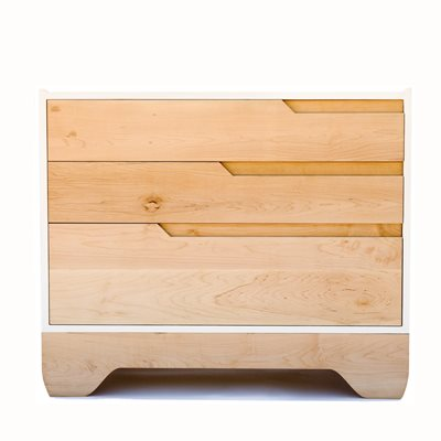 KALON STUDIOS CHILDREN'S ECHO DRESSER in White Finish