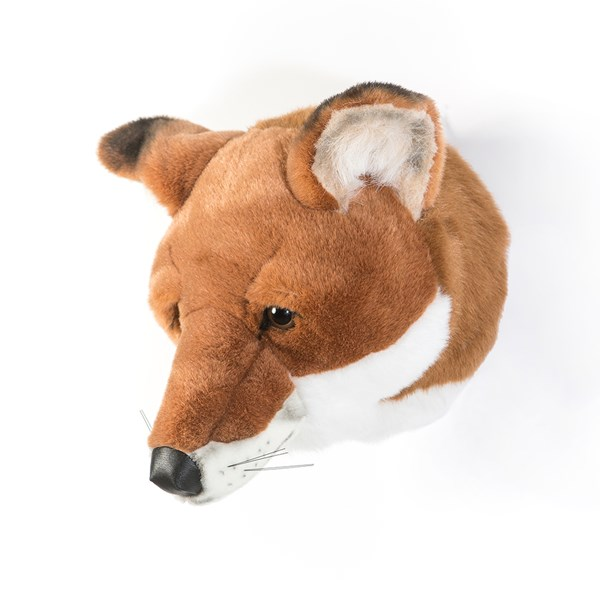 Louis the Fox Kids Plush Animal Head Wall Decor