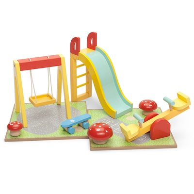 LE TOY VAN DOLLS HOUSE OUTDOOR  PLAYSET