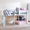 Flexa Jessie Midsleeper in White