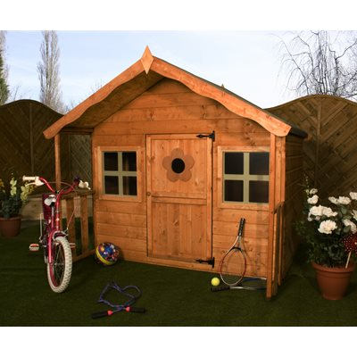 MERCIA KIDS HONEYSUCKLE WOODEN PLAYHOUSE