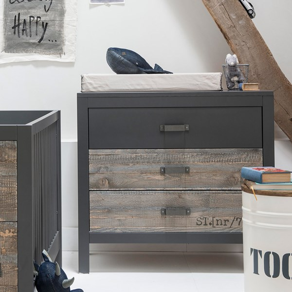Rock Industrial Chest of Drawers