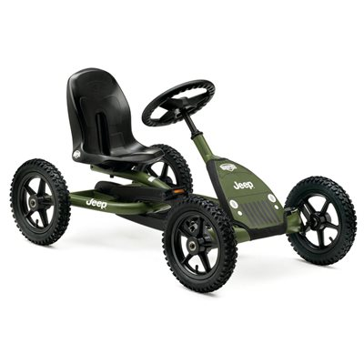 KIDS JUNIOR JEEP PEDAL GO-KART