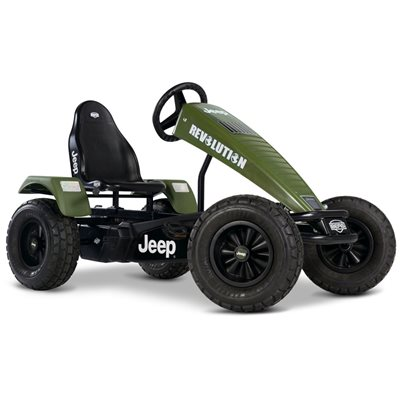 KIDS JEEP REVOLUTION PEDAL GO-KART