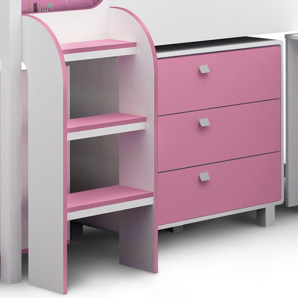 bed white victoria with dresser double contemporary kids wood cabinet kd ndacbo grey drawer products bedroom organizer or drawers display