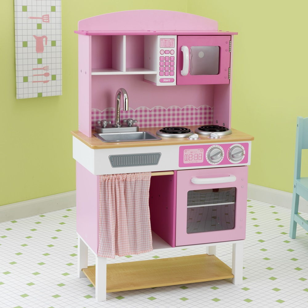 Kids Kitchen Set Pink Jpg