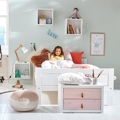 LIFETIME KIDS LOW LUXURY BED