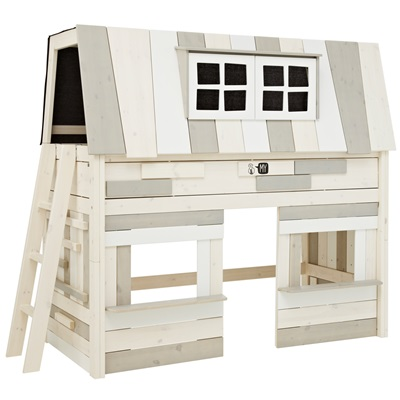 Home > New In > children > KIDS HANGOUT MID SLEEPER BED with Play Area