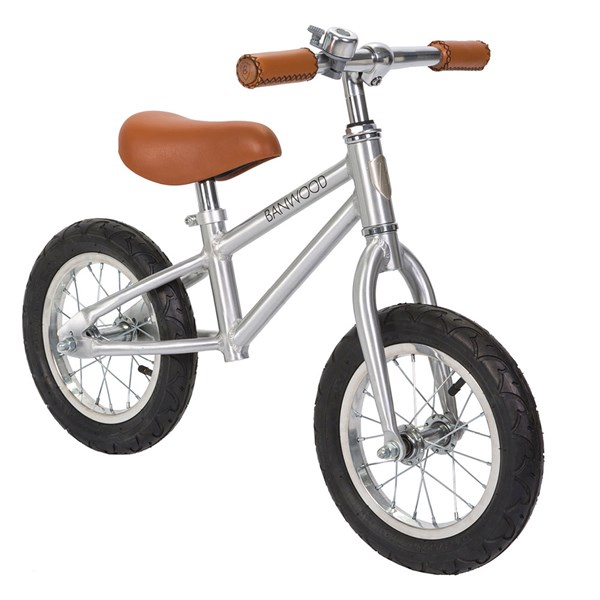 Banwood First Go! Balance Bike in Chrome
