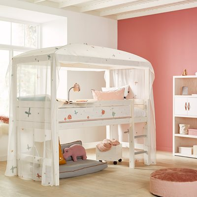 Lifetime Fairy Dust Mid Sleeper Four Poster Bed
