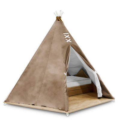 Unique Bed for Kids Teepee Style  sc 1 st  Cuckooland & Luxury Childrens Teepee Tent Bed With Toy Storage - Circu | Cuckooland