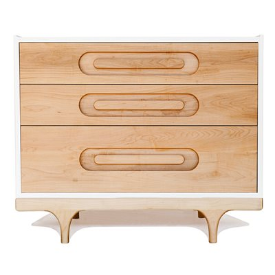 KALON STUDIOS KIDS CARAVAN DRESSER in Maple & White